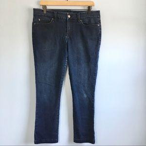 Level 99 Lily Crop Skinny Straight leg jean 32